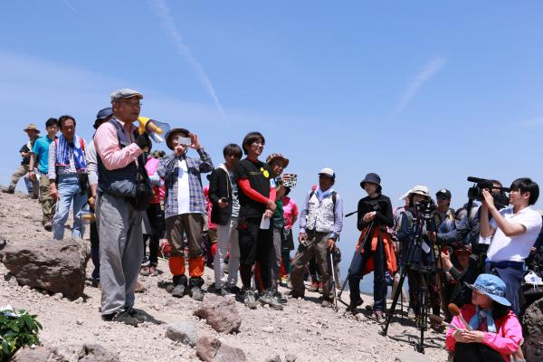 安達太良山山開き 5月21日06