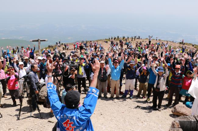 安達太良山山開き 5月21日07