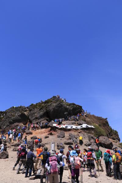 安達太良山山開き 5月21日08
