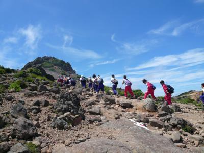 安達太良山写真
