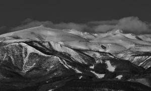 「安達太良山(四季)」部門最優秀賞 冬の安達太良山