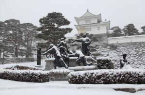 「冬」部門最優秀賞 大雪の日