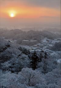 「冬」部門 雪あがりの朝