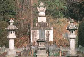畠山家墓所の写真