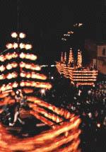 提灯祭りの写真