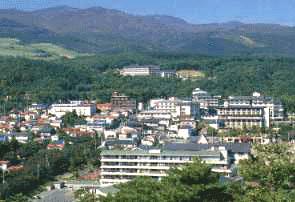岳温泉の写真
