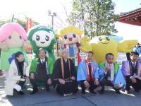 福島県と安達地方の観光物産展001