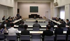 第1回協議会の様子の写真