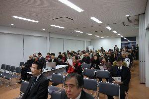 講演会の参加者の写真