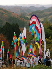 伝統を誇る日本一の五反幡行列01