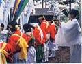 伝統を誇る日本一の五反幡行列09