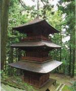 隠津島神社三重塔01