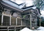 木幡山隠津島神社本殿・拝殿
