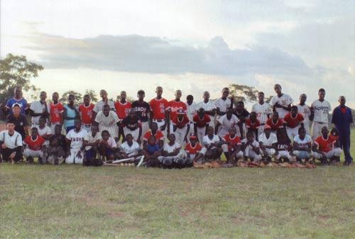 ウガンダの生徒たちの写真