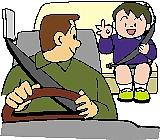 後部座席シートベルト着用