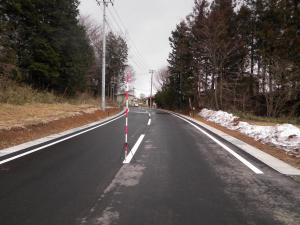 小関横森線施工後