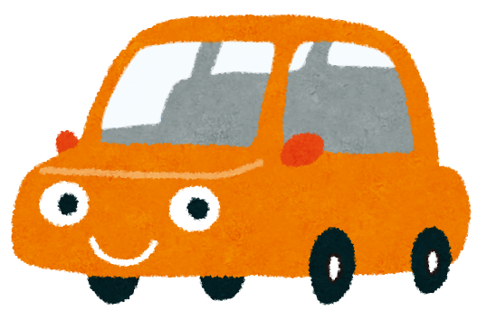 車のイラスト(デマンドタクシー)