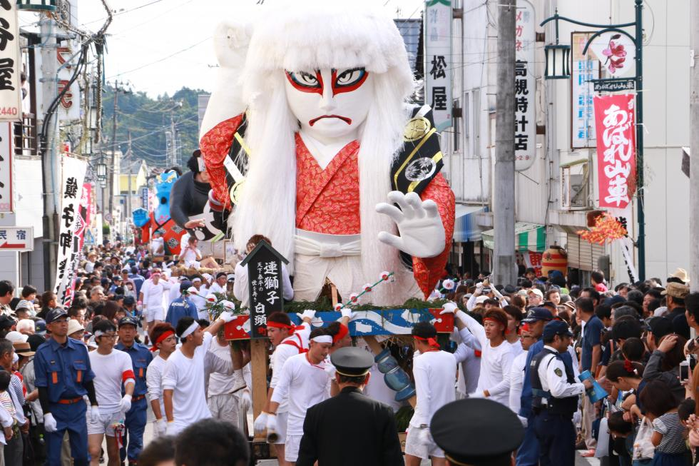 Harimichi Clash of Festival Floats