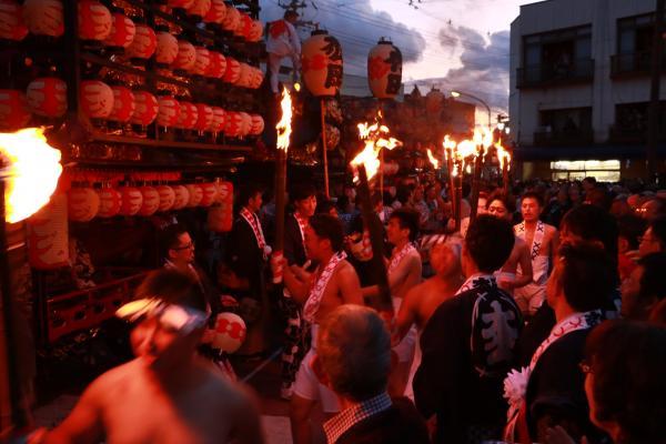 提灯祭り(宵祭り)出発式その1