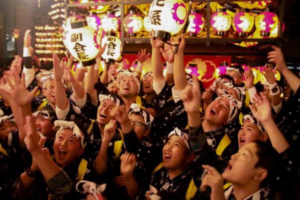 提灯祭り(宵祭り)出発式その5