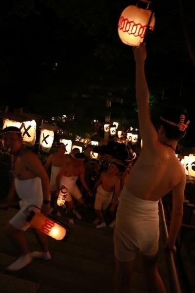 提灯祭り(本祭り)神輿渡御その4