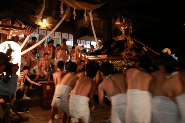 提灯祭り(本祭り)神輿渡御その5