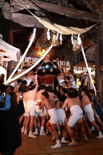 提灯祭り(本祭り)神輿渡御その6
