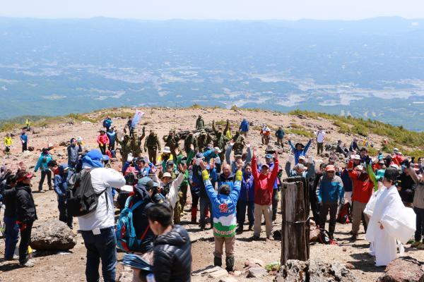 安達太良山山開き11