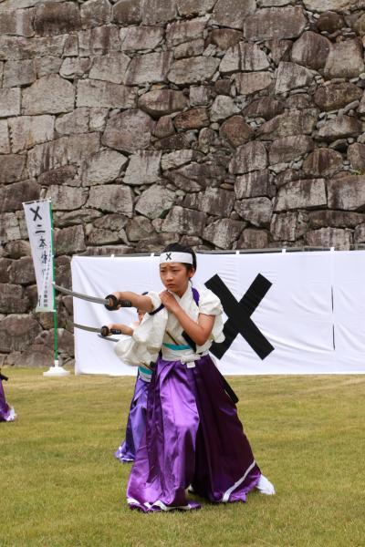 顕彰祭剣舞3