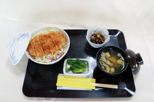 ソースカツ丼(ウッディハウスとうわ)