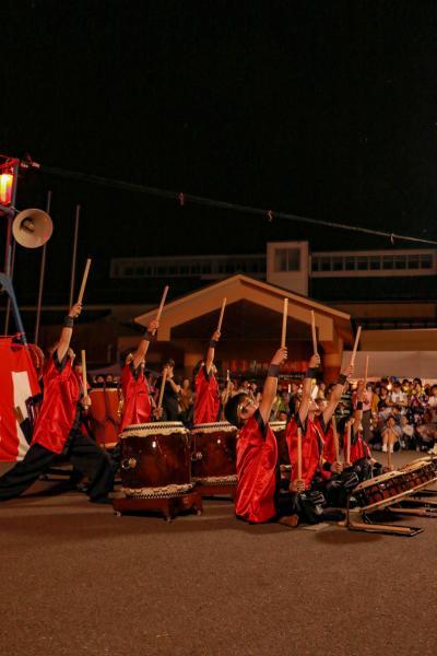 智恵子の里安達夏祭り 太鼓1