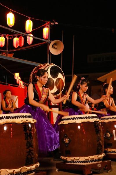 智恵子の里安達夏祭り 太鼓2