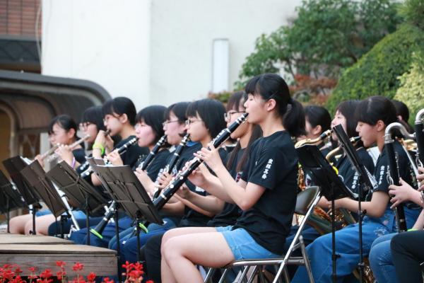 智恵子の里安達夏祭り 吹奏楽