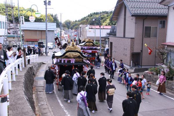 小浜の紋付祭り5