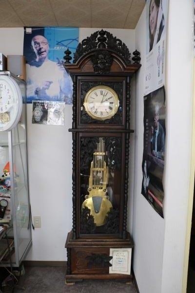 スゲノ時計店看板時計