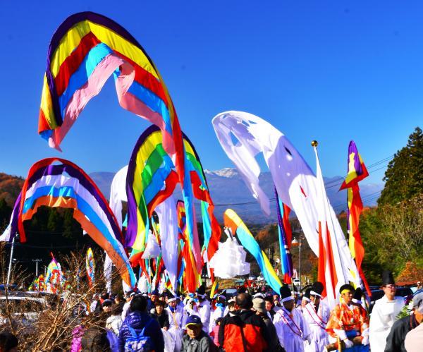 幡祭り 最優秀 【権立たちの先導で】 600