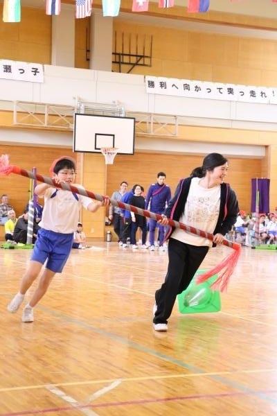 原瀬小運動会8