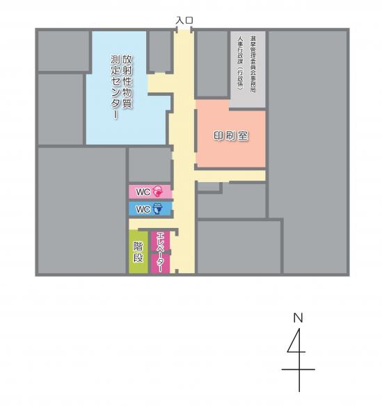 本庁舎地下1階