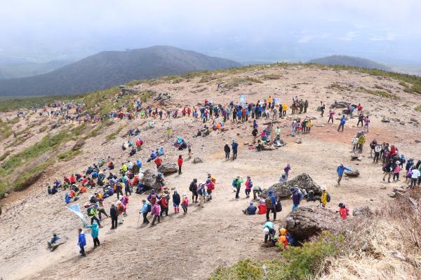 2019安達太良山山開き3