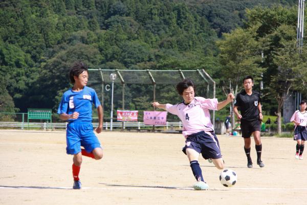 新人戦サッカー(1)