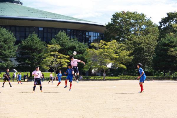 新人戦サッカー(3)