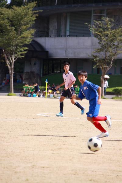新人戦サッカー(4)