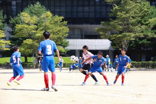 新人戦サッカー(5)