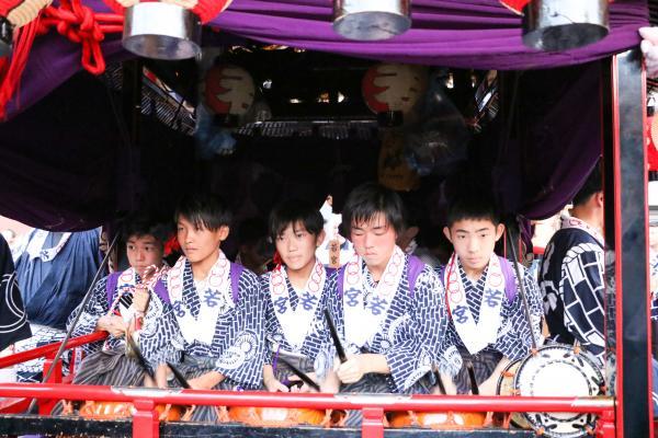 2019二本松の提灯祭り1日目(若宮小若)