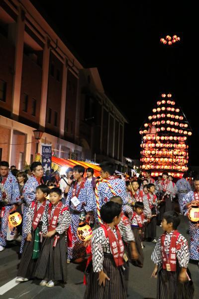 2019二本松の提灯祭り1日目(大七さん前、竹田太鼓台)