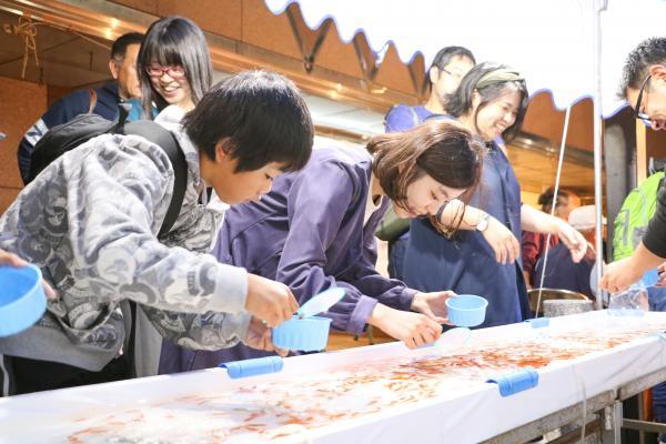 2019二本松の提灯祭り2日目(金魚すくい)