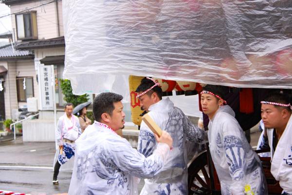 2019二本松の提灯祭り3日目四町出発式(亀谷若連)