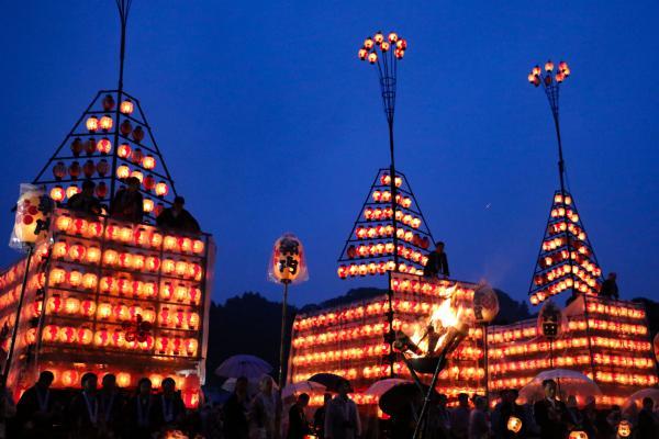 2019二本松の提灯祭り3日目三町出発式(三町太鼓台)