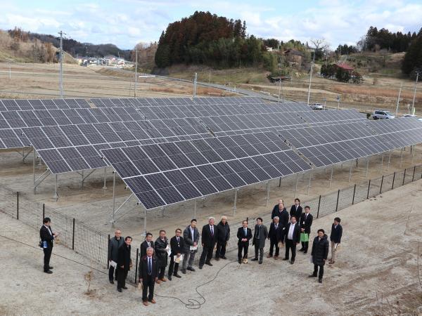 太陽光発電初号機竣工式➃