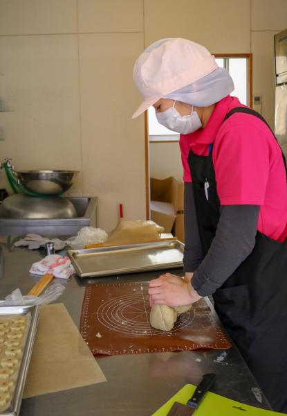 そばクッキー(製作過程)